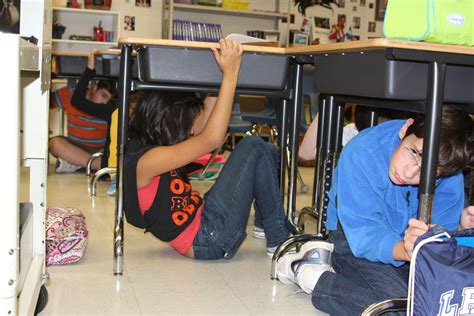 earthquake videos for students students conduct earthquake preparedness drill