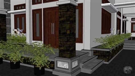 rumah tinggal  lingkungan yg sejuk  asri info jasa