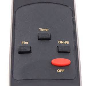 replacement remote for 26 quot electric fireplace