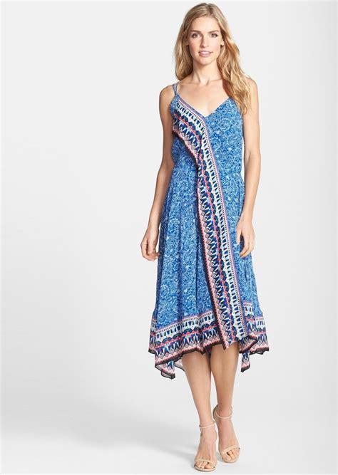 May Dress Bali connection connection bali border handkerchief hem midi dress dresses shop