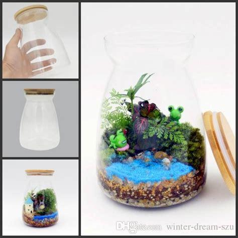 live plant office terrarium mini indoor desk garden 2017 freedhl 4 3 inch glass tabletop vase terrarium micro