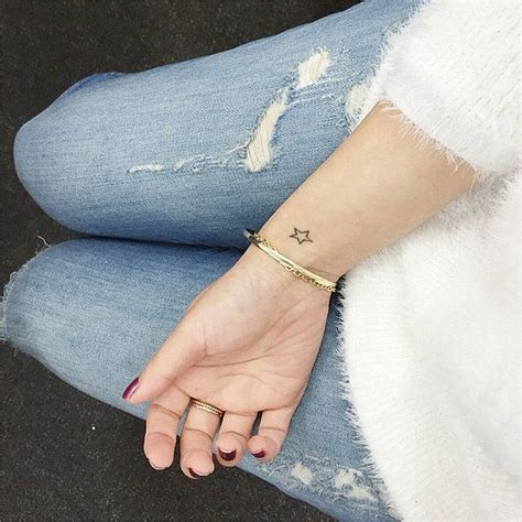 little star tattoos wrist best 25 tattoos ideas on no outline