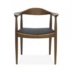 Hans J Wegner Style Designed Round Chair Cult Uk