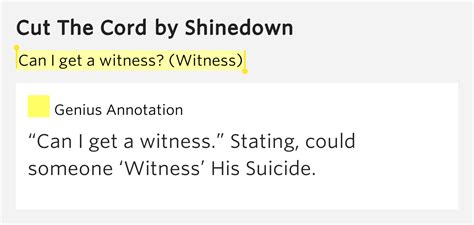 can my husband cut the cord in a c section can i get a witness witness cut the cord lyrics meaning