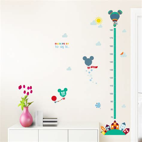 mickey wall stickers removable pvc minnie mickey wall sticker for rooms