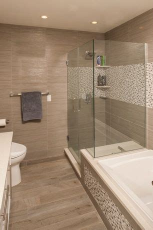 contemporary full bathroom  pental crystal white