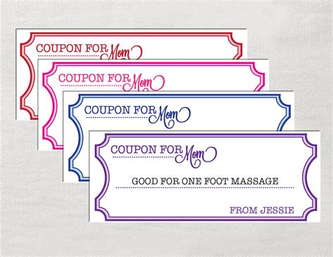 Coupon Template Word Cyberuse Printable Coupon Template