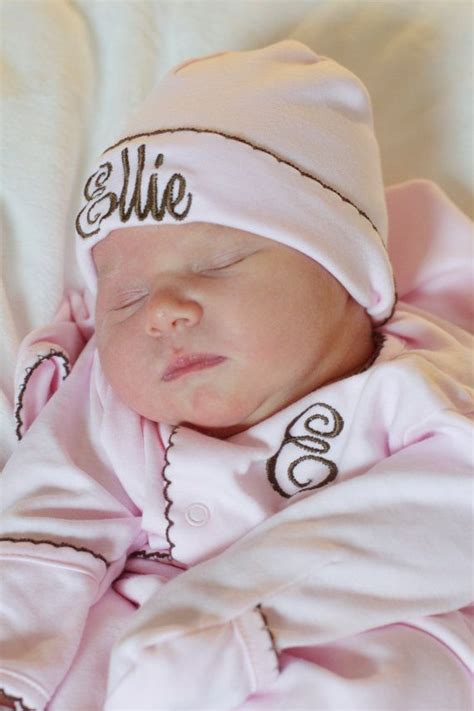 Newborn Coming Home by Pink With Brown Baby Coming Home Ellie Pima