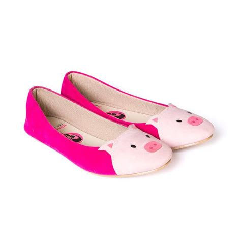 piggys shoes for piggy melati pig shaped flat shoes on etsy 25 00