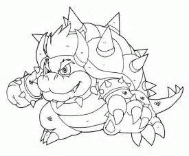 bowser coloring pages bowser jr coloring pages coloring home