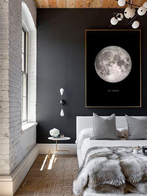 Schwarze Wand Schlafzimmer by 25 Best Ideas About Grey Bedroom Decor On