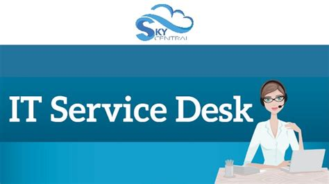 it help desk services it service desk
