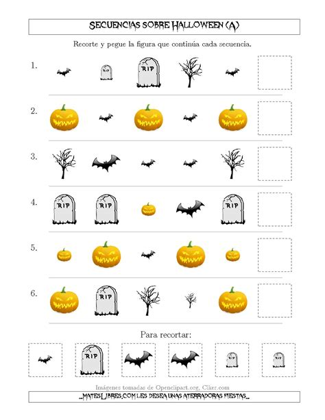 imagenes sensoriales de forma y tama o secuencias de im 225 genes tenebrosas sobre halloween