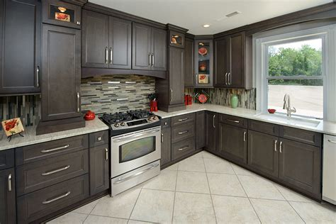 grey kitchens cabinets kithen design ideas lowes red backsplash vinyl cabinets