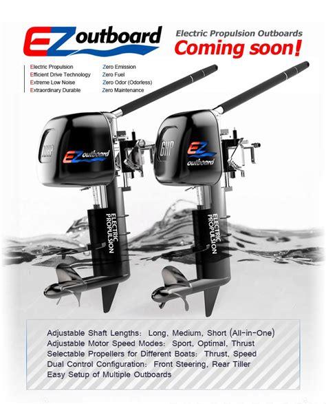 motor boat easy electric propulsion outboard ezoutboard ez outboard