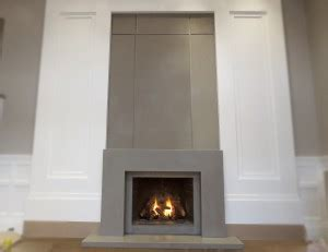 contemporary concrete fireplace surround trueform decor