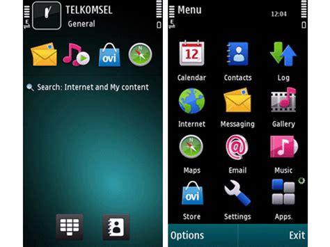 xpressmusic blue themes mobile phones petrol blue theme for s60v5