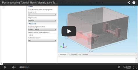 keyboard visualizer tutorial video tutorial basic visualization comsol blog
