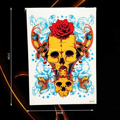 tato kartun lengan henna art laki laki makedes com