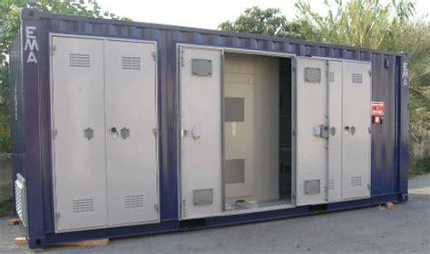 cabina mt cabine mt bt containerizzate categoria cabine