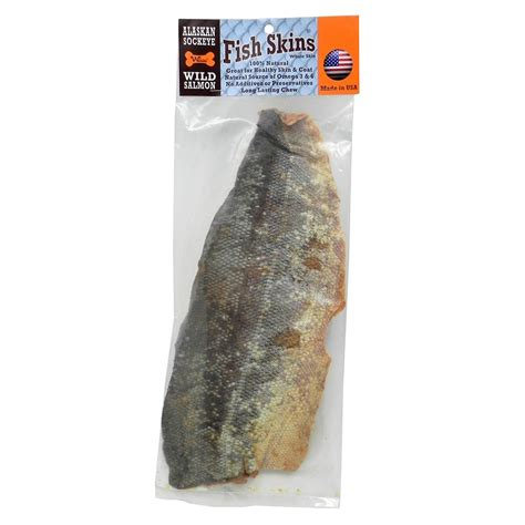 salmon skin for dogs alaskan sockeye salmon fish skin whole chews and treats at arcata pet supplies