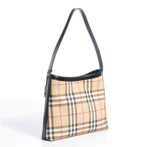 Burberry Check Shoulder Bag by Burberry Check Shoulder Bag Black 77520