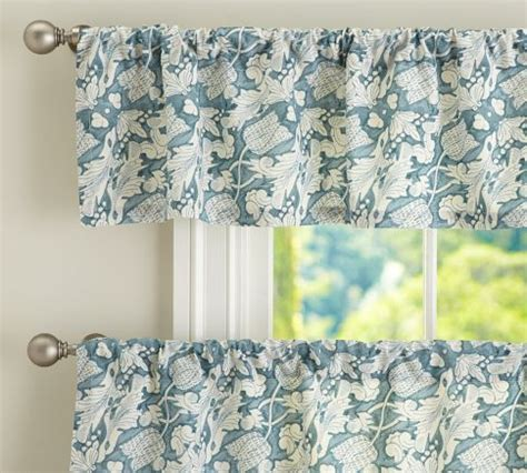 Pottery Barn Kitchen Curtains Maia Cafe Curtain Pottery Barn In The Kitchen
