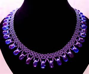 Free pattern for beaded necklace galaxy beads magic