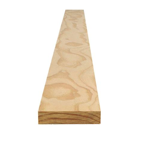 home depot claymark pine claymark 1 in x 4 in x 16 ft select radiata pine board hdps10416 the home depot