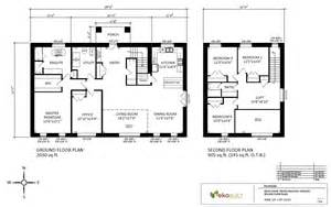 Home Blueprints by Ottawa Passive House Plans Ottawa Passive House By Ekobuilt