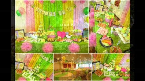tinkerbell home decor cute tinkerbell themed birthday party ideas youtube
