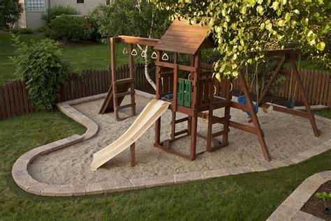 Creative Backyard Playground Ideas by 40 Creative And Backyard Garden Playground For