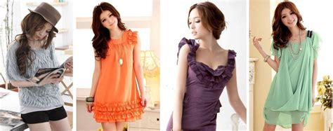 Terlaris Blus Model Korea Variasi Kalung Terlaris baju korea serta dress korea yang cantik dan feminin baju