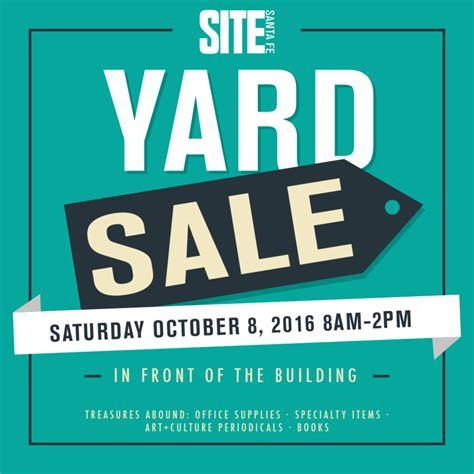 Backyard Sale by Yard Sale Site Santa Fe