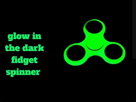 Fidget Spinner Glow Ini The Emotion Karakter glow in the fidget spinner