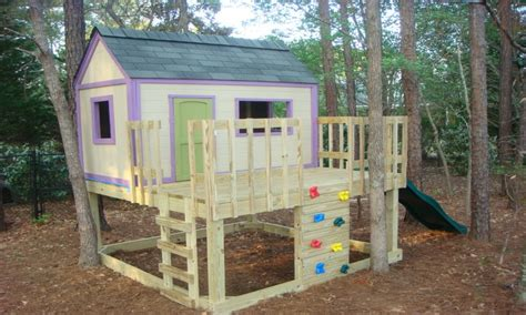 easy playhouse plans kids playhouse plans simple house