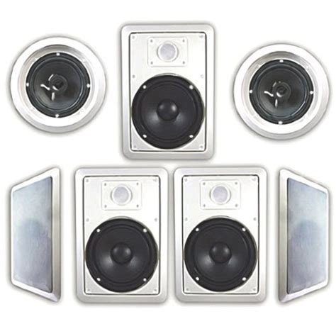 acoustic audio ht 67 7 1 home theater speaker system