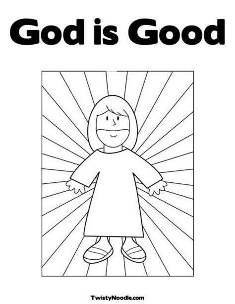 God Is Good Coloring Page Religion Pinterest God Is Coloring Page