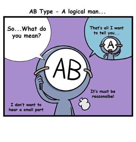 Ab Blood Type ab personality type ab personality type