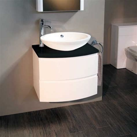voss 620 wall mounted black countertop vanity drawer unit