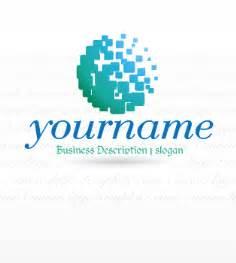 Business Logo Design Templates Technology Online Ready Made Logos High Tech Logos