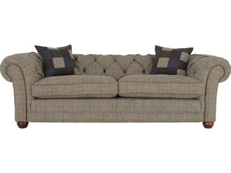 Harris Tweed Castlebay Midi Sofa Lee Longlands