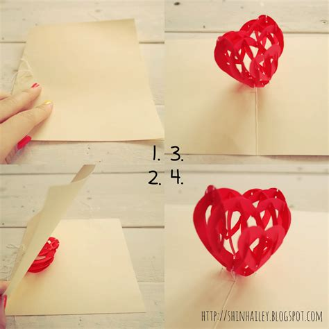diy popup card template diy tutorial s 3d pop up card shin hailey