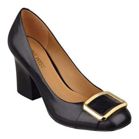Nine West 333 8 nine west chunky heels gold sandals heels