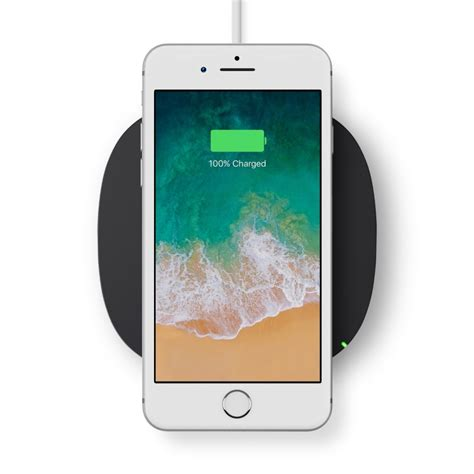 bingua belkin qi wireless charging pad compatible with iphone 8 8 plus and iphone x