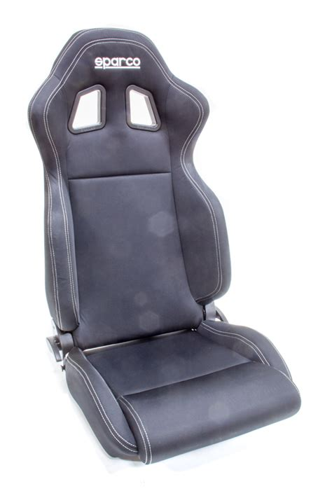 sparco reclining seats sparco 00961nrnr seat r100 reclining side bolsters