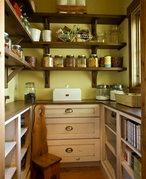 Pantry Wood Shelves by Lovely Pantry The Wood Shelves Kitchen Inspiration