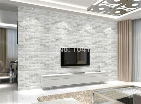 brick wallpaper living room embossed 3d brick wallpaper modern brick pattern