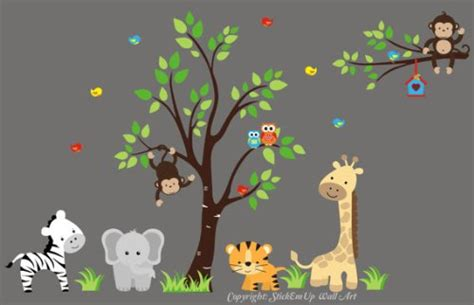 wall stickers jungle theme wall decal fantastic jungle theme wall decals for room jungle theme wall decals baby