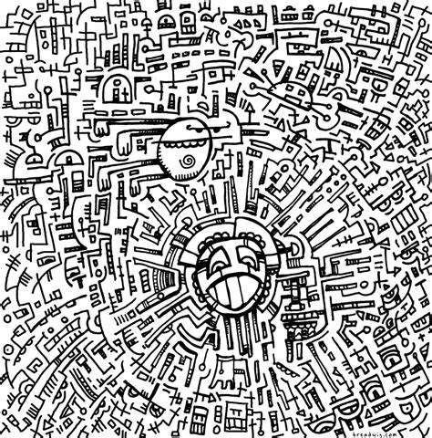 coloring pages weird designs free coloring pages of televisor para colorear